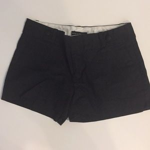 Banana Republic black twill shorts
